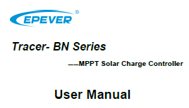 EP Solar Tracer-4215BN Installation and operation manual