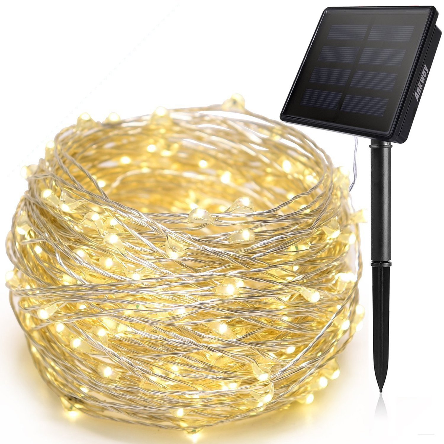 Best solar power Christmas lights - Ankway