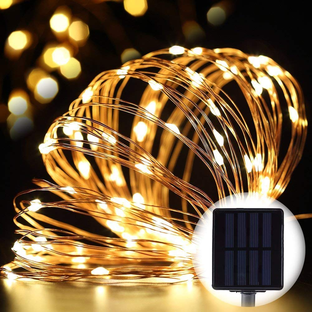 Best solar powered christmas lights GDEALER