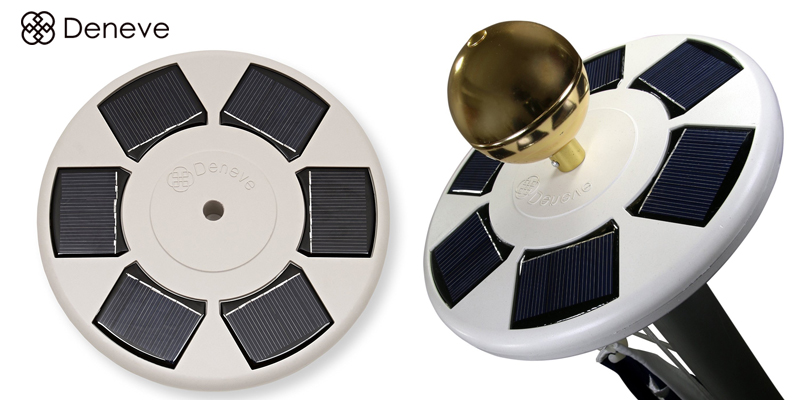 Deneve Solar Flagpole Light Review