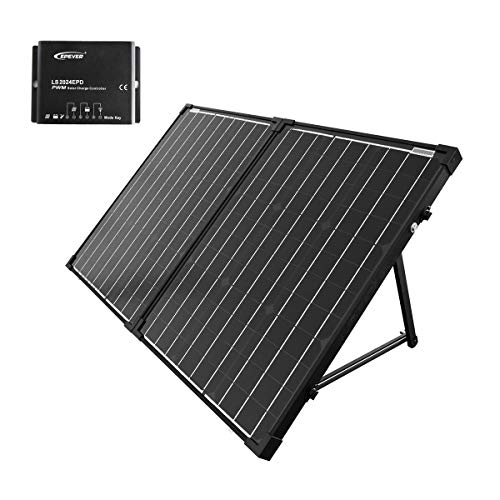 acopower w portable solar panel kit waterproof a charge controller for