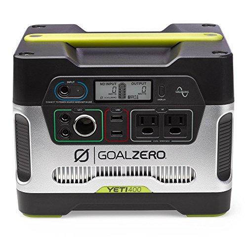 goal zero yeti portable power station wh battery powered generator
