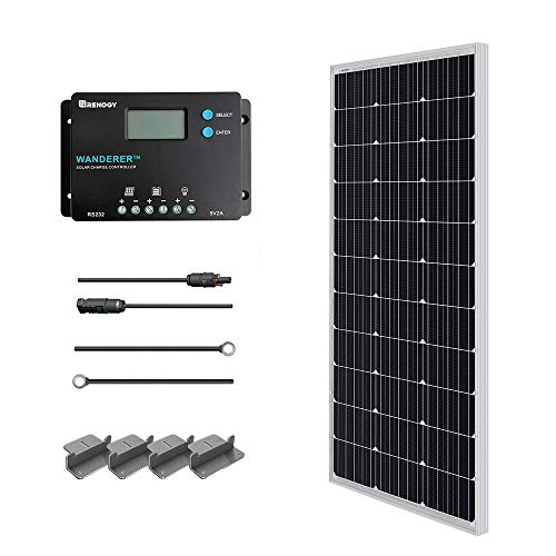 renogy w v monocrystalline solar starter kit wwanderer a charger