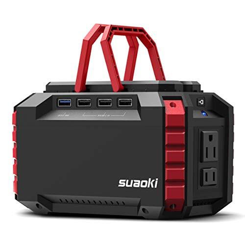 suaoki portable power station whw camping generator lithium power