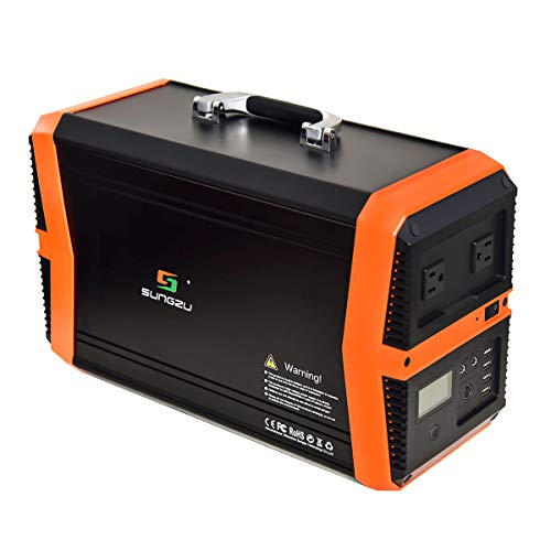 sungzu portable power station w wh portable solar generator lithium