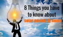 8 Things you have to know about solar panels for home