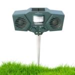 Abco Tech Ultrasonic Solar Animal & Pest Repeller Review
