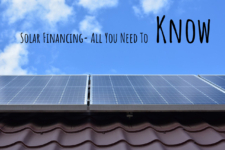 Solar Financing- All You Need To Know