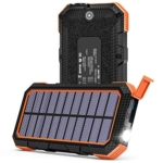 ADDTOP Solar Charger 26800mAh, 18W QC 3.0 Solar Power Bank Review