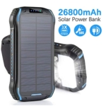 Aonidi Solar Charger 26800mAh Power Bank Portable Charger Review
