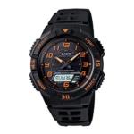 "Casio Men's AQS800W-1B2VCF ""Slim"" Solar Multi-Function Ana-Digi Sport Watch Review"