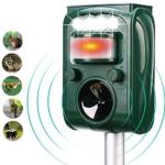 FAYINWBO Solar Outdoor Animal Repeller Review