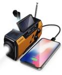 FosPower Emergency Solar Hand Crank Portable Radio Review