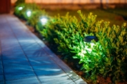 How to dig holes for solar lights