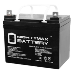 Mighty Max Battery ML35-12 – 12V 35AH U1 Deep Cycle AGM Solar Battery Review