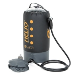 Nemo Helio Portable Pressure Shower with Foot Pump Review
