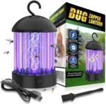 okk Electronic Bug Zapper Indoor and Outdoor, Portable Mosquito Lamp Waterproof