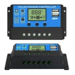 Phoenician Energy 10A Solar Charge Controller 12V/24V Auto, Solar Panel Charge Controller 10Amp Solar Regulator with Dual USB LCD, Backlight LCD Display and Timer Setting ON/Off (10A) Review
