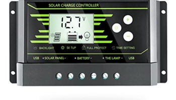 PowMr 30A Solar Charge Controller, Solar Panel Charge Controller 12V 24V Dual USB, Adjustable Parameter Backlight LCD Display and Timer Setting ON/Off Hours(Z30A) Review
