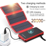 POWOBEST Dual USB Portable Charger Solar Phone Charger Review