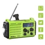 Rocam Emergency Hand Crank Portable Radio Solar Power Review