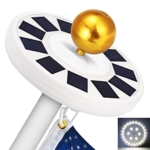 GRDE Solar Flag Pole Light Review