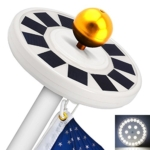 TOTOBAY 30 LED Solar Power Flag Pole Lights Review