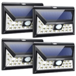 URPOWER 20 LED Outdoor Solar Motion Sensor Lights Review