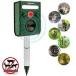 ZOVENCHI Solar Ultrasonic Animal Repeller Review